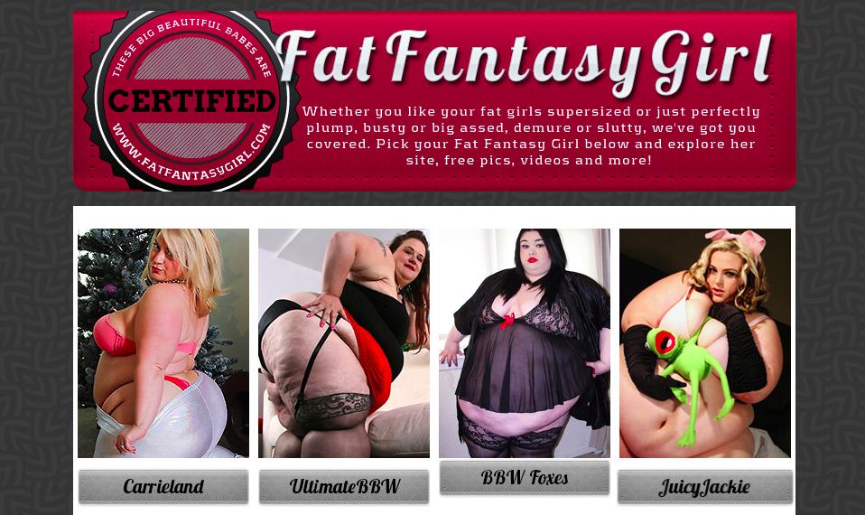 FatFantasyGirl main page