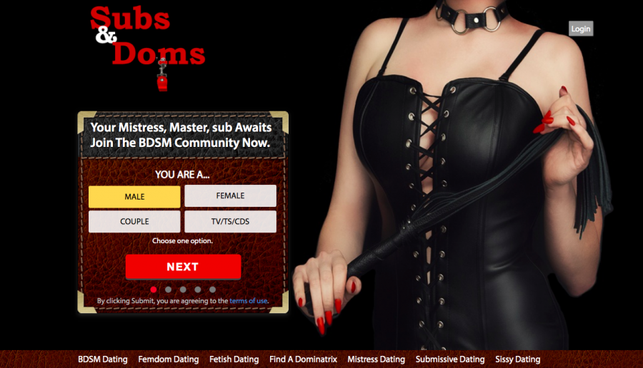 Subs-and-doms main page