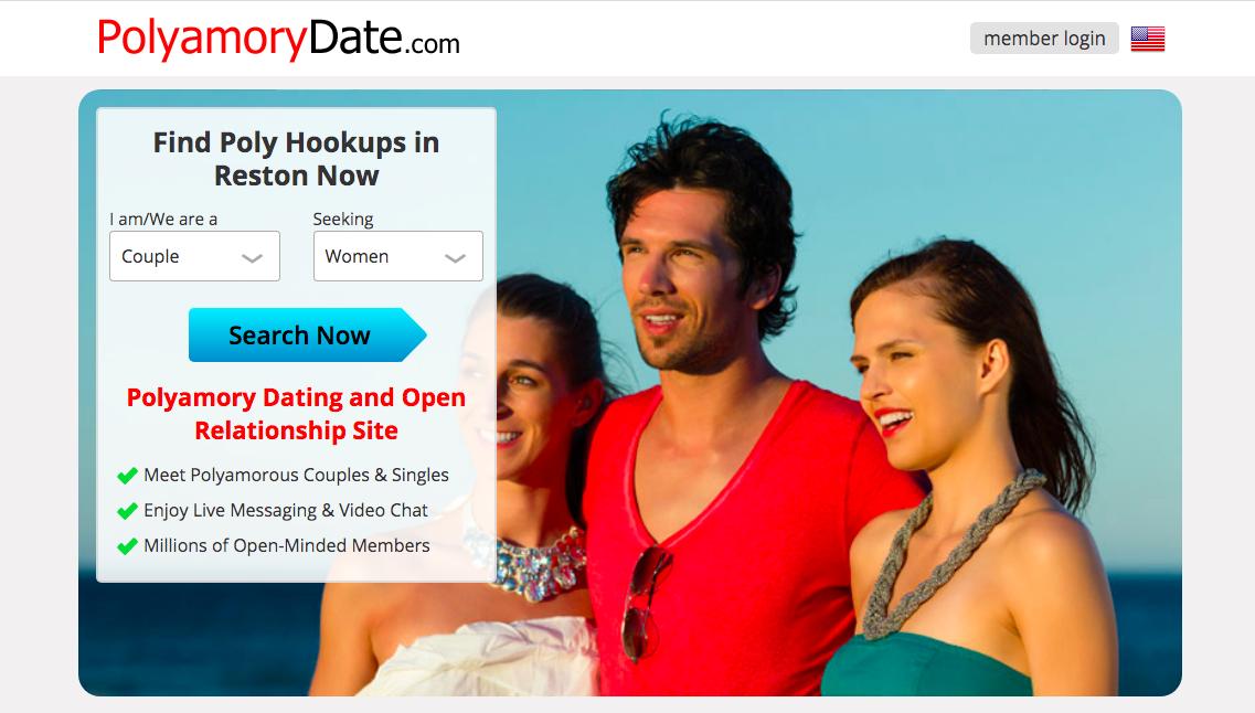 PolyamoryDate main page
